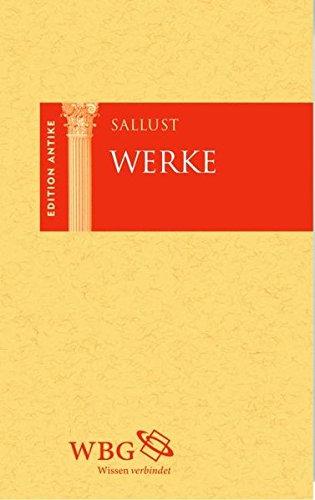 Sallust Werke (Edition Antike)
