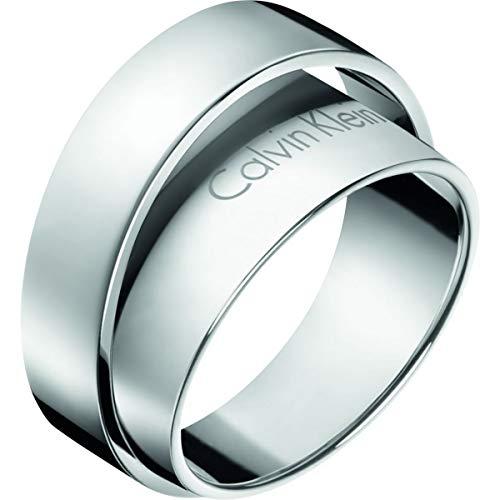 Calvin Klein -Ringe Edelstahl Ringgröße 54 KJ5ZMR000107