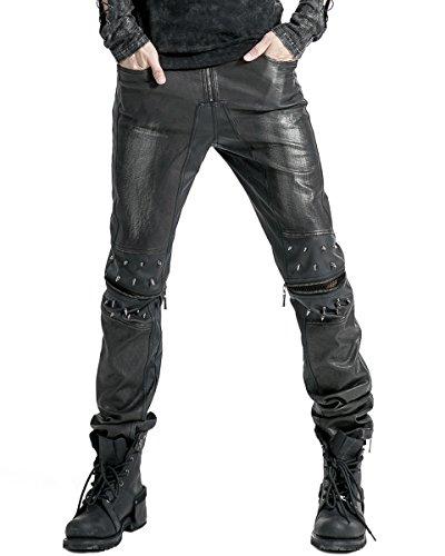 Punk Rave -  Jeans  - Uomo Black X-Large
