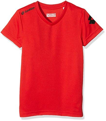 Lotto Kinder T-shirt JERSEY TEAM EVO JR, Rot, XL, 8058126919531 (Kinder Jersey Fußball Rotes)