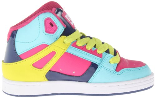 DC Shoes Rebound, Baskets mode garçon Multicolore
