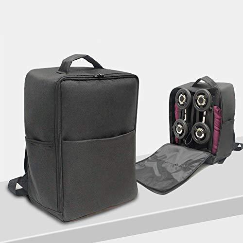 FADDR Tragen Kinderwagen Rucksack Kinderwagen Transporttasche mit 2 Seitentaschen und Reißverschluss für Kinderwagen Pockit 2S / 3 / 3S / d668 / d666(Black)
