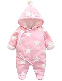 c74fdcaf4580 Amazon.co.uk  Pink - Rompers   Bodysuits   One-Pieces  Clothing
