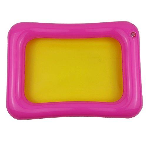 Kinder Innen PVC aufblasbar Castle Sand Box Sandbox Tablett Tisch Fun Play Toys zufällige Farbe, Zufällige Farbauswahl, Middle (Sand Aufblasbarer)