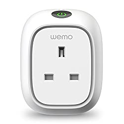 Wemo Insight Switch, Wi-fi Smart Plug, Control Lights & Appliances From Phone, Manage Energy, Works With Amazon Alexa