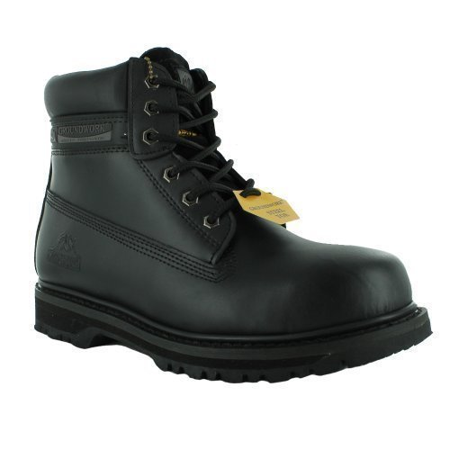 new-mens-groundwork-lace-up-steel-toe-safety-ankle-boots-size-uk-7-8-9-10-11-black-uk-size-7