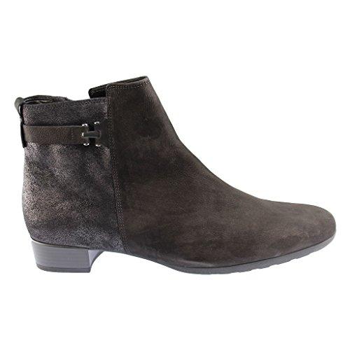 GABOR SHOES 92.713.30 Damen Stiefelette - Schuhe in Übergrößen grau