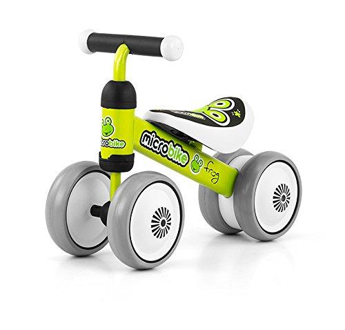 Sehr leichter (2 kg) und wendiger Micro Rutscher mit 6 Zoll R&aumldern in 5 Designs: Rutschauto Kinderauto schon ab 18 Monaten geeignet, Model:Frog