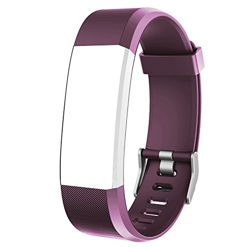 Willful Ersatz Armband Fitness Armband Wasserdicht IP67 (Lila)