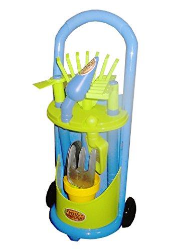 Preisvergleich Produktbild Spielzeug-Set mit Gartengeräten in einer Karre