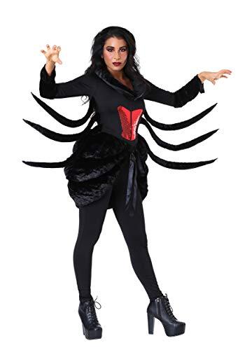 Frauen Black Widow Spider Kostüm - S