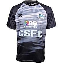 X BLADES Cronulla Tiburón 2015 NRL Infantil Camisea Para Entrenamiento Camiseta
