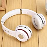 Captcha Suitable With Sony XPERIA Z3+ S460 Wireless Bluetooth Headphone Over The Head 2.1 Stereo Foldable Headphones Headset With Mic, Inbuilt SD Card And FM Radio (Colour May Vary) (One Year Warranty)