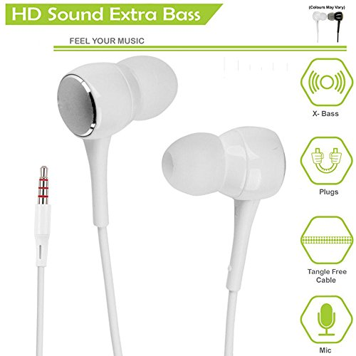 Mobile Gabbar SSKK Intex Cloud Z6 In Ear Earphone with mic / Headphone with Mic Super HD Bass (3.5mm Jack)  available at amazon for Rs.149