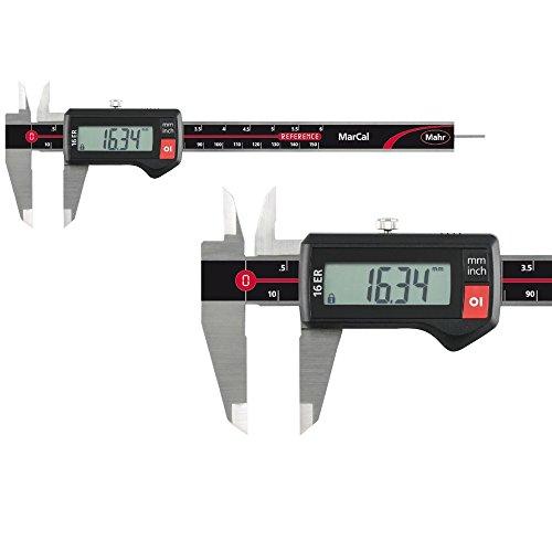 Digital Messschieber Mahr MarCal 16 ER 150 mm Ablesung: 0,01 mm 4103012 Datenausgang: nein Tiefenmaß: flach Aktionspreis gültig bis 31.05.2019