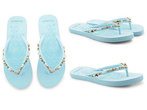 Foster Footwear - Retro aperto da ragazza' donna 545:Blue ...