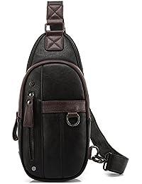 pequeño cofre Pack de los hombres/bolso de hombro de los hombres/mochila ciclismo de ocio Coreano/Bolso de hombre de pecho de deportes al aire libre