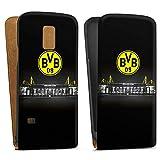 DeinDesign Samsung Galaxy S5 Mini Tasche Hülle Flip Case Borussia Dortmund BVB Stadion