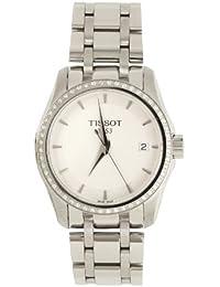 Tissot Herren-Armbanduhr Couturier Analog Quarz Edelstahl T035.210.61.011.00