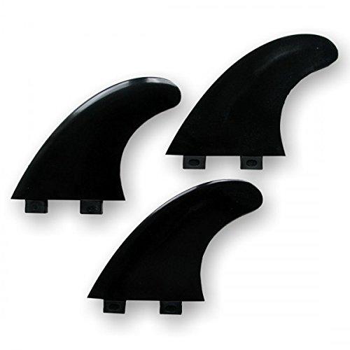 Surfboard Finnen TIKI G5 Thruster Set FCS base bla