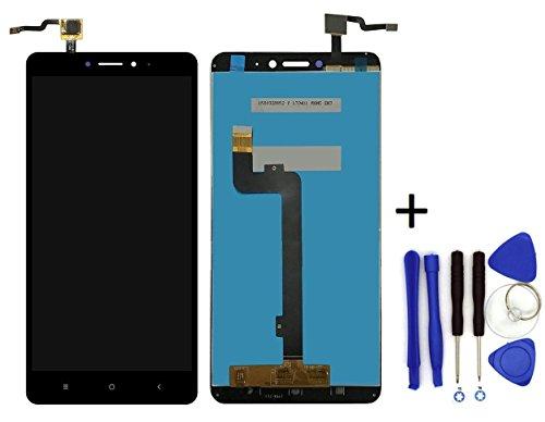 Theoutlettablet® Pantalla LCD Completa capacitiva con tactil digitalizador para Smartphone Xiaomi Mi MAX 2 + Herramientas - Color Negro