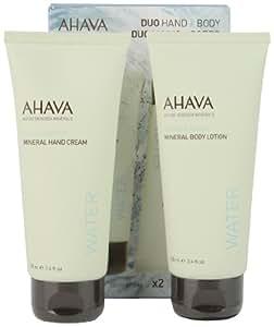 AHAVA Coffret cadeau duo minéral crème pour les mains/lait pour le corps