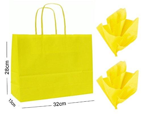 12-x-landscape-large-paper-party-gift-bags-boutique-shop-bag-tissue-wrap-yellow