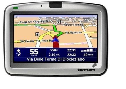 Tomtom Go 710 Mobile Navigation Westeuropa inklusive TMC Receiver