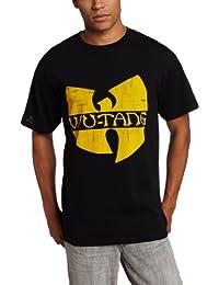LYYJY Men's Wu Tang Clan Classic Yellow Logo T-Shirt