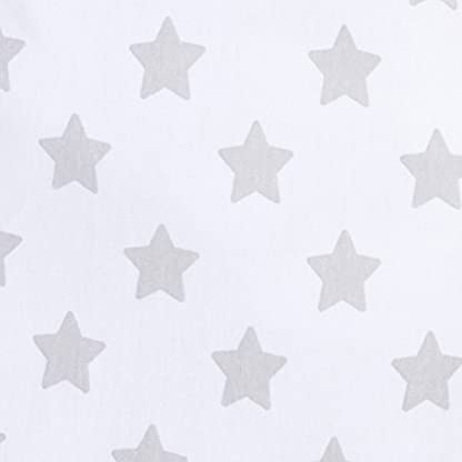 41Cbn5ByOQL. SS416  - swaddleme 55906Original Puck Saco, estrellas, grande (4-6meses), Gris