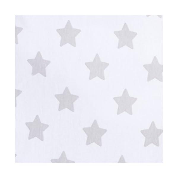 swaddleme 55906Original Puck Saco, estrellas, grande (4–6meses), Gris