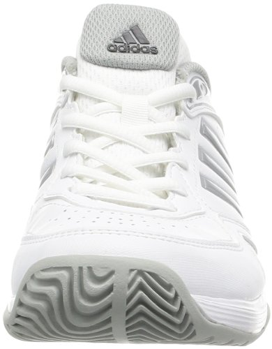 adidas Performance ambition VIII STR W G64790 Damen Tennisschuhe Weiß (RUNNING WHITE FTW / METALLIC SILVER / BLACK 1)