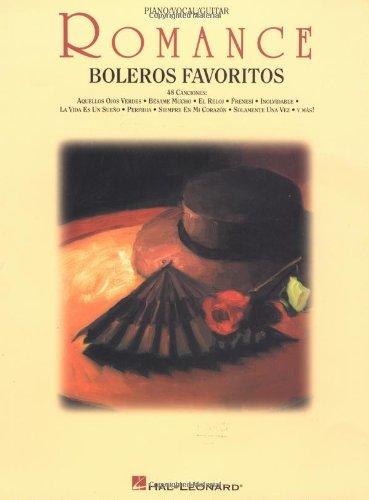 Descargar Libro Romance: Boleros Favoritos de Divers Auteurs