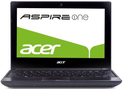 Acer Aspire One 521 Panthera 25,6 cm (10,1 Zoll) Netbook (AMD Athlon II Neo K125, 1,7GHz, 1GB RAM, 250GB HDD, ATI HD4225, Bluetooth, Win 7 Starter) (Amd-bluetooth-laptops Acer)