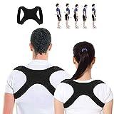 YEFIDER Haltungstrainer, Geradehalter zur Haltungskorrektur für Eine Bessere Körperhaltung, Schultergurt gegen Nacken -und Schulterschmerzen für Damen Herren