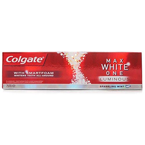 - 41CbpxDV4jL - Colgate Max White One Luminous Toothpaste, 75ml