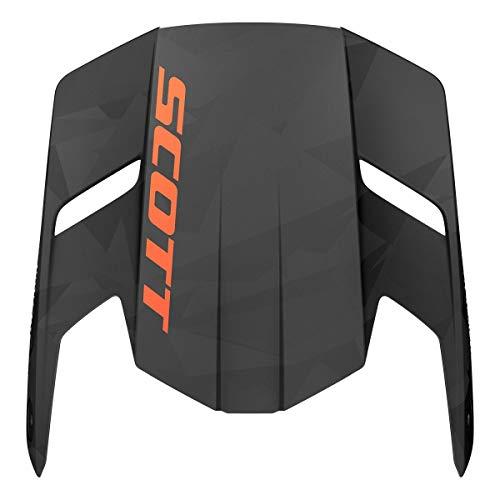 Scott 350 Evo Camo Visor Helm Visier schwarz/orange: Größe: XS/S/M