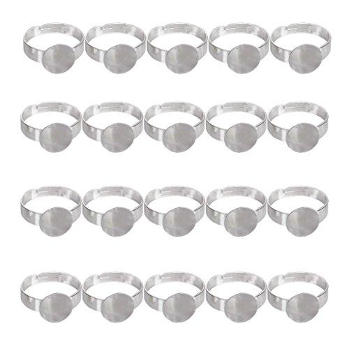 20pcs-anneaux-rglables-de-couleur-dargent-avec-10mm-pad