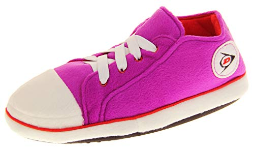 Dunlop Mujer Zapatillas De Estar por Casa Botas Zapatillas Rosa EU 36-37