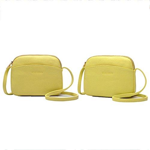 FAIRYSAN , Sac bandoulière pour femme Rouge rouge petit Greenish Yellow