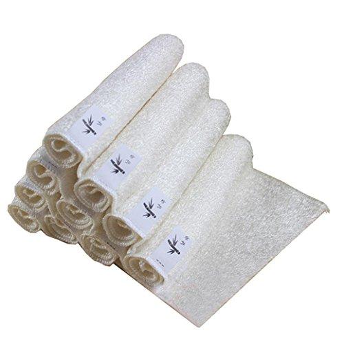 zycshang 5pcs 18x 16cm de alta eficiente anti-grease bambú plato paño de lavado toalla Magic cocina limpieza limpieza