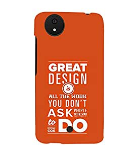 TOUCHNER (TN) Great Design Back Case Cover for MICROMAX A1