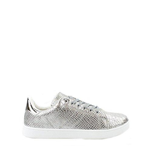 oprah-ladies-metallic-crinkle-flat-skater-pump-3-silver