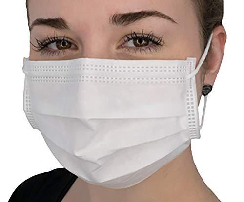 Box mit 50 St, Mundschutz -Schutzmaske - Atemmaske - Gesichtsmaske -Atemschutzmaske, weiss