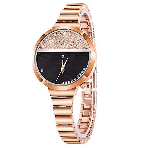 Moda Vehome Inoxidable – De Para Reloj Mujer Correa Acero 6gYb7Iyvfm