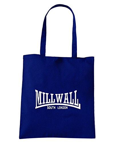 T-Shirtshock - Borsa Shopping OLDENG00343 mill wall south london Blu Navy
