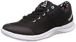Reebok Womens Dmx Lite Prime Black, White and Coal Nordic Walking Shoes -5 UK/India (38 EU)(7.5 US)