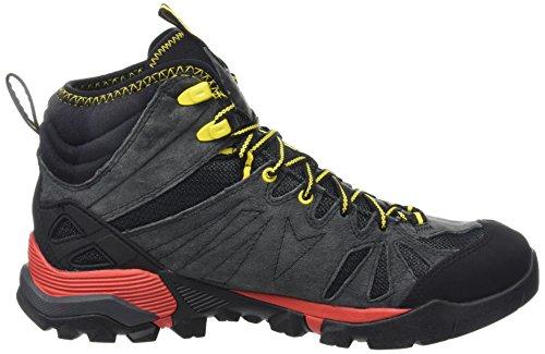 Merrell Capra Mid Gore-Tex, Chaussures de Randonnée Hautes Homme Gris (Granite)