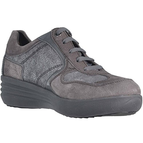 STONEFLY 105305 Les femmes gris chaussures confort de lacets baskets Grigio