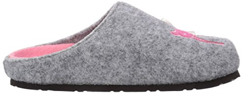 softwaves 542 112, Chaussons fille Gris (Lt.Grey 226)